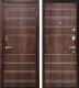 Входная дверь МеталЮр М1 Темный шоколад (96x206, правая) -