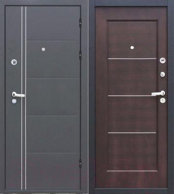 Входная дверь Йошкар Феррум Венге (86x206, правая)