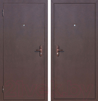 Входная дверь Йошкар Стройгост 5-1 Металл (98x206, левая)