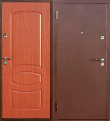 Входная дверь Йошкар Стройгост 5-2 Итальянский орех (98x206, левая)