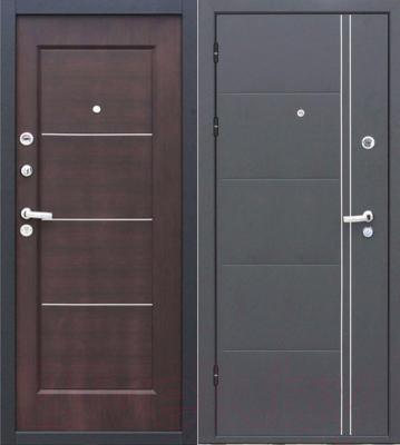 Входная дверь Йошкар Феррум Венге (96x206, левая)