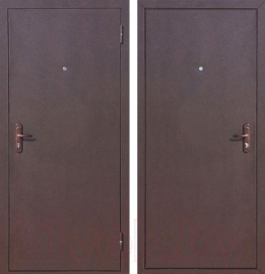 Входная дверь Йошкар Стройгост 5-1 Металл (98x206, правая)