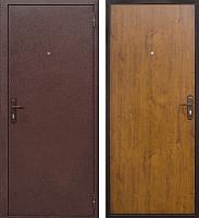 Входная дверь Йошкар Стройгост 5-1 Золотистый дуб (98x206, правая) -