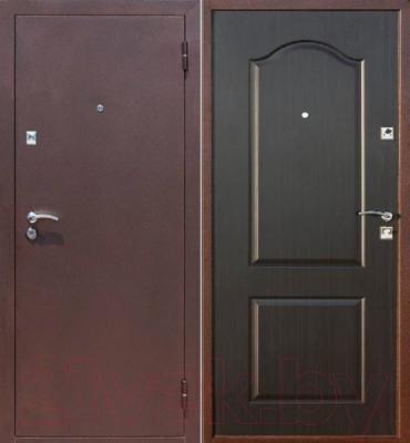 Входная дверь Йошкар Стройгост 5-2 Венге (98x206, правая)