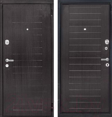Входная дверь ЮрСталь Каскад R (88x206)