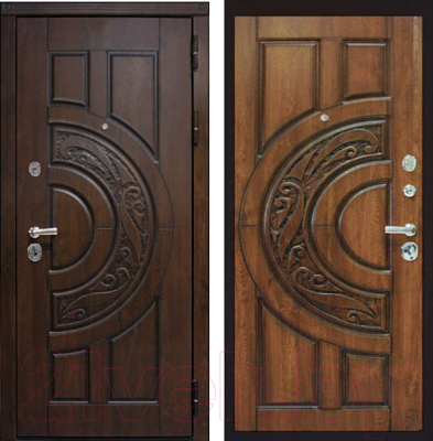 Входная дверь ЮрСталь Луна R (88x206)