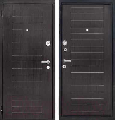 Входная дверь ЮрСталь Каскад L (88x206)