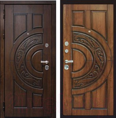 Входная дверь ЮрСталь Луна L (88x206)
