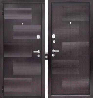 Входная дверь ЮрСталь Монреаль L (96x206)