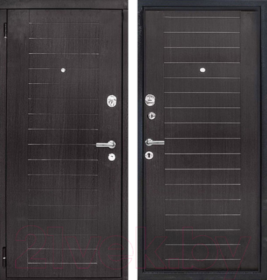Входная дверь ЮрСталь Каскад L (96x206)