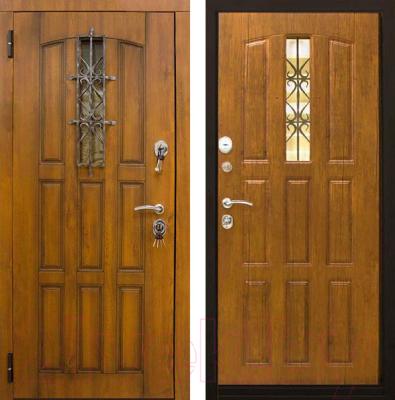 Входная дверь ЮрСталь Турин L (96x206)
