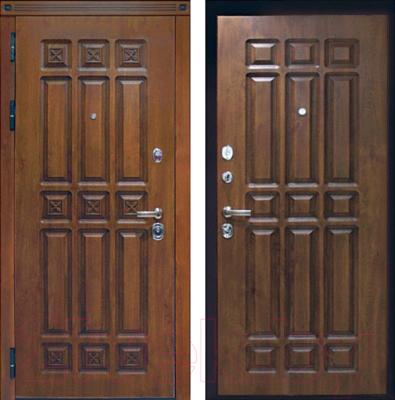 Входная дверь ЮрСталь Элит L (96x206)
