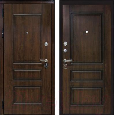Входная дверь ЮрСталь Лондон L (96x206)