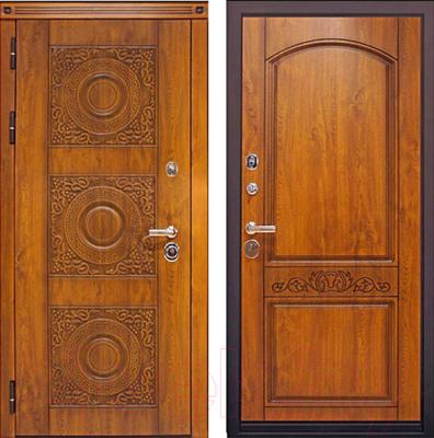 Входная дверь ЮрСталь Милано L (96x206)