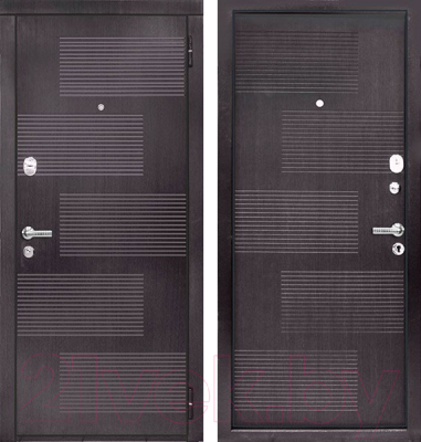Входная дверь ЮрСталь Монреаль R (96x206)