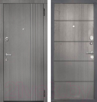 Входная дверь ЮрСталь Лайн R (96x206)