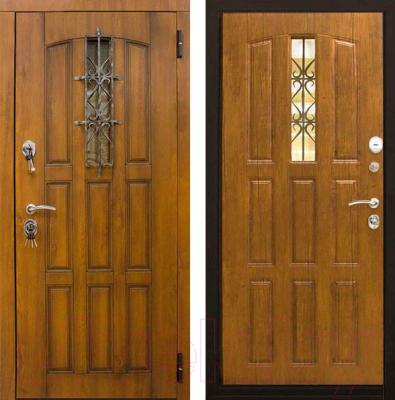 Входная дверь ЮрСталь Турин R (96x206)