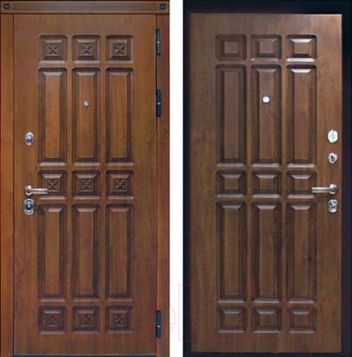 Входная дверь ЮрСталь Элит R (96x206)