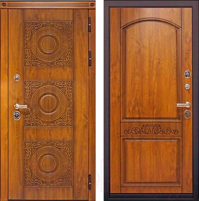 Входная дверь ЮрСталь Милано R (96x206)