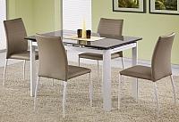 Обеденный стол Halmar Alston (бежевый/белый) -