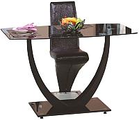 Обеденный стол Halmar Anton (черный) -