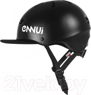 Защитный шлем Powerslide Ennui SF Visor 920012 (L/XL, черный)