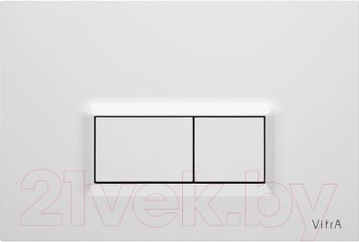 Унитаз с инсталляцией VitrA Arkitekt 9005B003-7210 - клавиша смыва