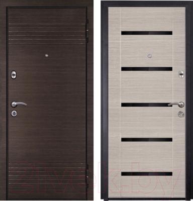 Входная дверь Металюкс M16/1 R (86x205)