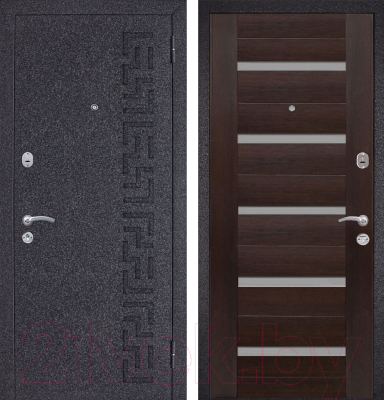 Входная дверь Металюкс M25 R (86x205)