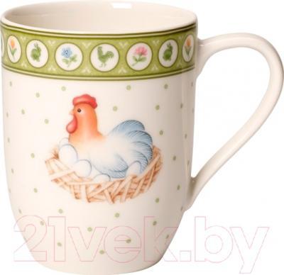 Чашка Villeroy & Boch Farmers Spring Курочка и петушок (0.37 л)