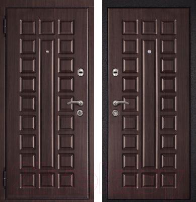 Входная дверь Металюкс M12 L (86x205)