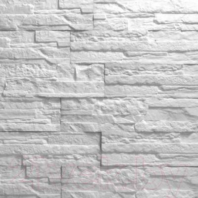 Декоративный камень Royal Legend Афины белый 22-010 (375х85х5-12)