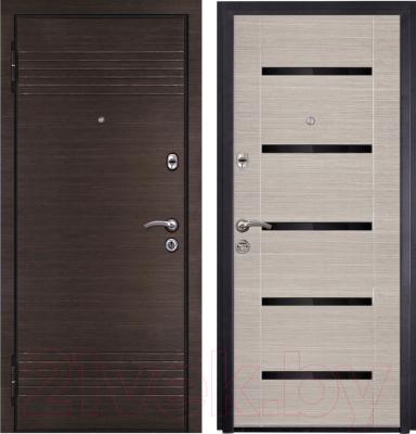 Входная дверь Металюкс M16/1 L (86x205)