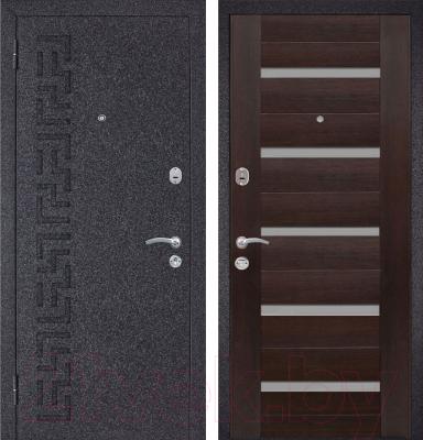 Входная дверь Металюкс M25 L (86x205)