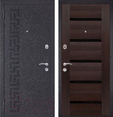 Входная дверь Металюкс M28 L (86x205)