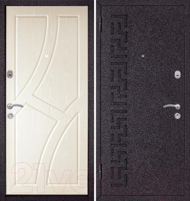 Входная дверь Металюкс M4 L (96x205)