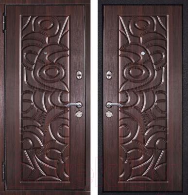 Входная дверь Металюкс M8 L (96x205)