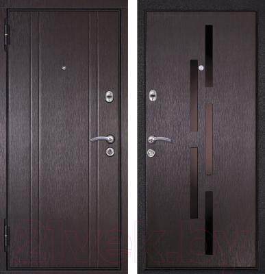 Входная дверь Металюкс M17 L (96x205)