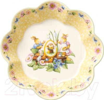 Блюдо Villeroy & Boch Spring Fantasy Пасхальная мастерская
