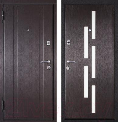Входная дверь Металюкс M18 L (96x205)
