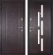 Входная дверь Металюкс M18 L (96x205) -