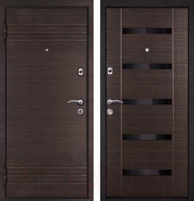 Входная дверь Металюкс M16 L (96x205)