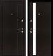 Входная дверь Металюкс M33/1 L (96x205) -