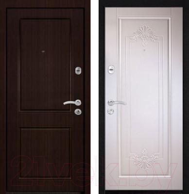 Входная дверь Металюкс M34 L (96x205)