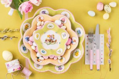 Блюдо Villeroy & Boch Spring Fantasy Прогулка с утятами - вид коллекции Spring Fantasy в интерьере