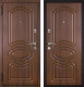 Входная дверь Металюкс M19 L (96x205) -