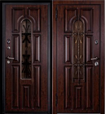 Входная дверь Металюкс M60 L (96x205)