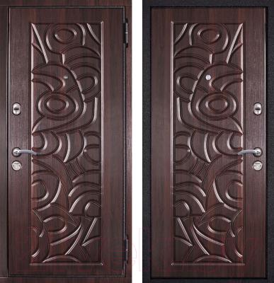 Входная дверь Металюкс M8 R (96x205)