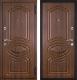 Входная дверь Металюкс M9 R (96x205) -