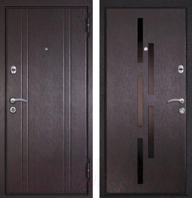 Входная дверь Металюкс M17 R (96x205)